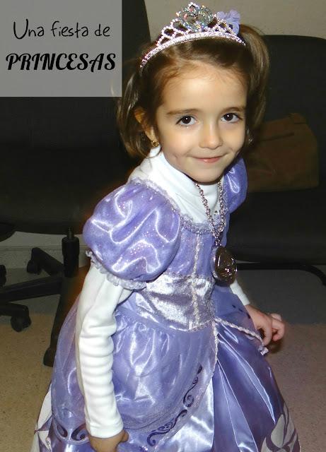 Una fiesta de cumpleaños de princesas