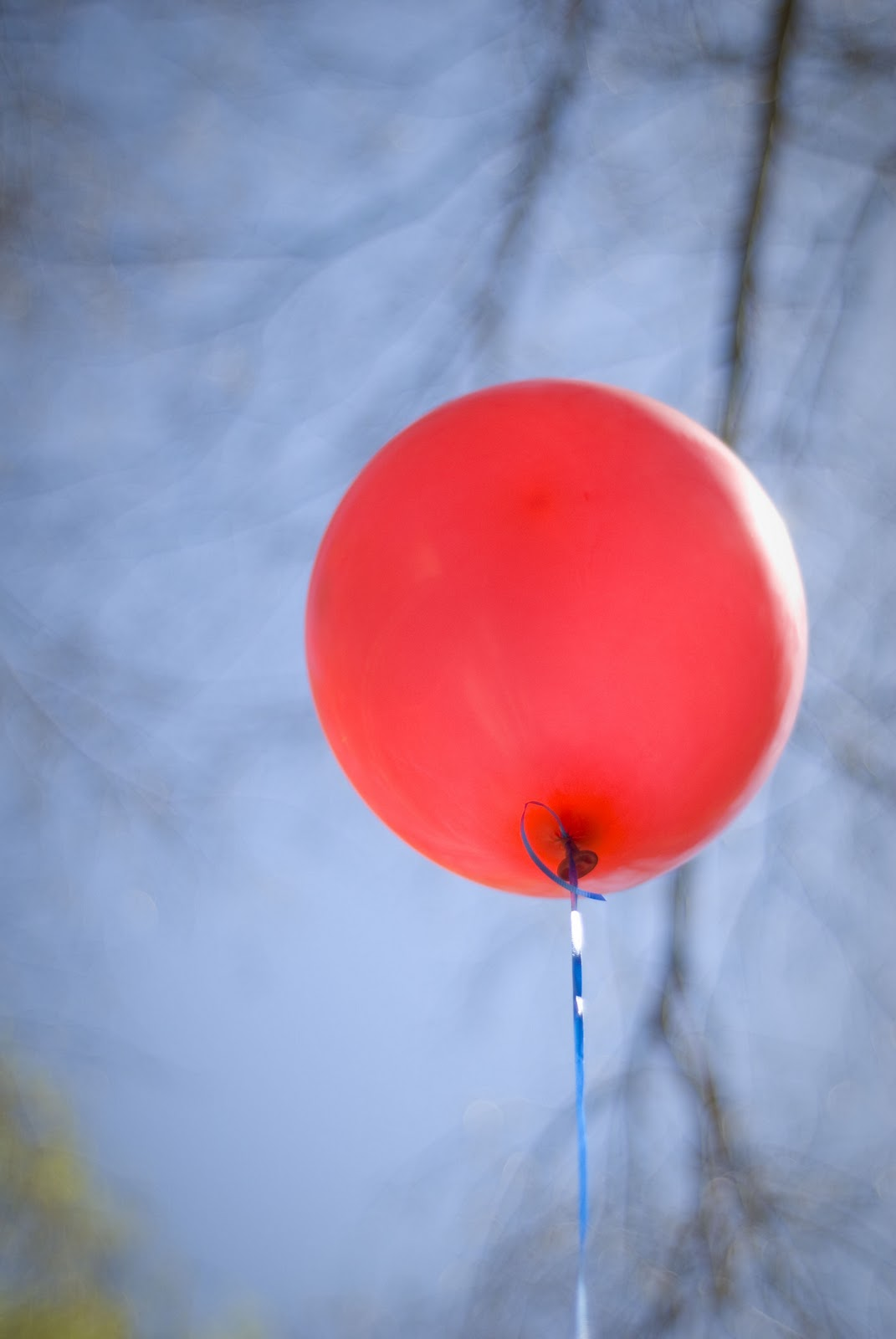 Life Is Art Too Red Balloon
