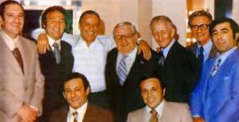 Frank Sinatra with Mafia members