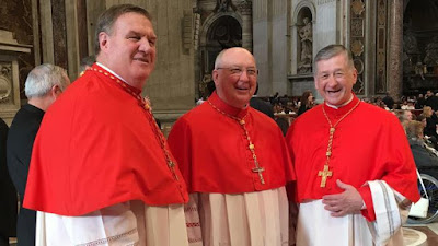 Tobin, Farrell and Cupich