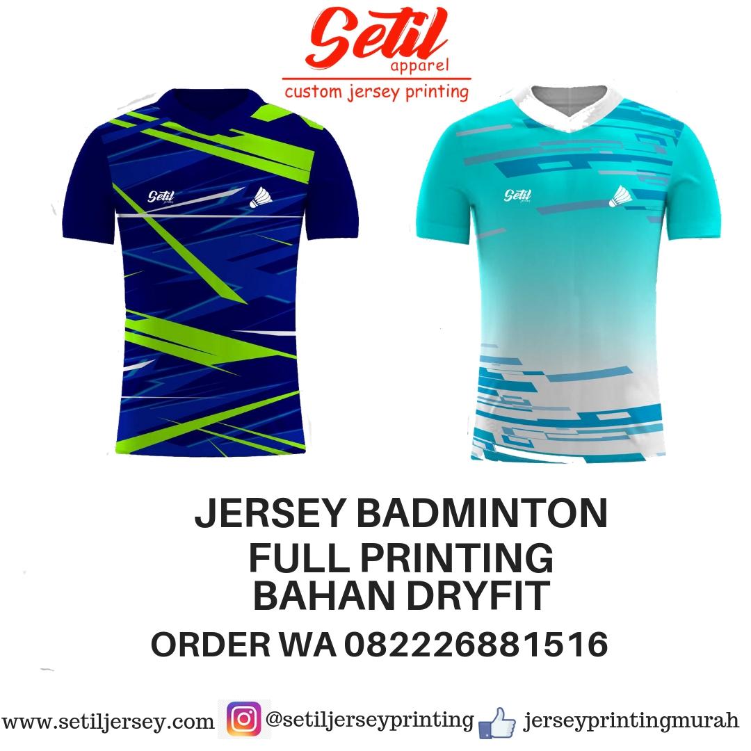 Aplikasi Desain Baju Badminton