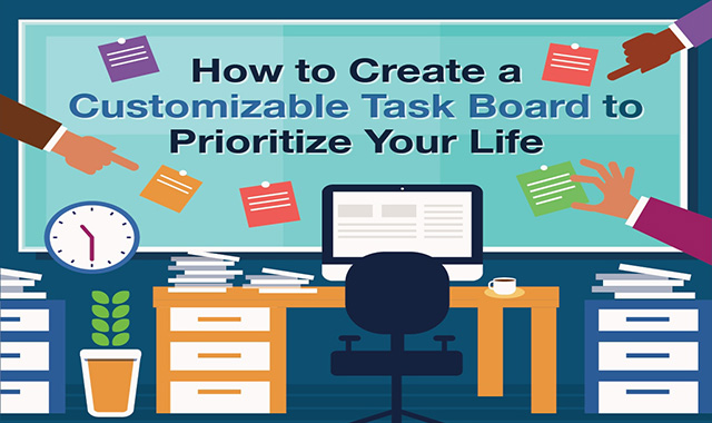 How to create a customizable task board to prioritize your life