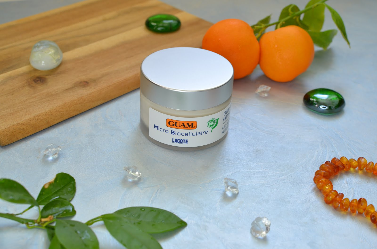 GUAM Micro Biocellulaire Anti-Wrinkle Lifting Cream увлажняющий лифтинг-крем ORGANIC противовозрастного действия для лица