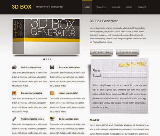Convert Your Product Landing Page From PSD to HTML
