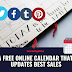 A FREE ONLINE CALENDAR THAT UPDATES BEST SALES