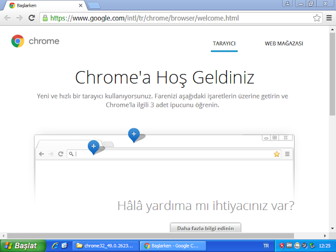 Google Chrome Windows XP'de Çalışan Tarayıcı indir