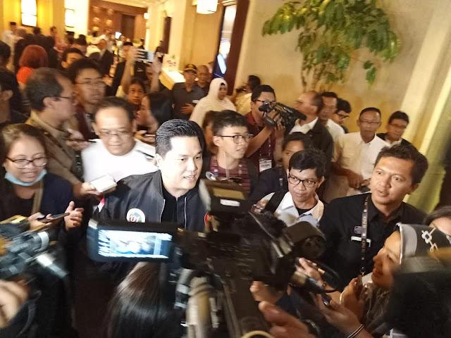 Bantah Jokowi Ciut Hadapi Forum Internasional, Erick Thohir: Kalau Pidato Jadi Trending Kok