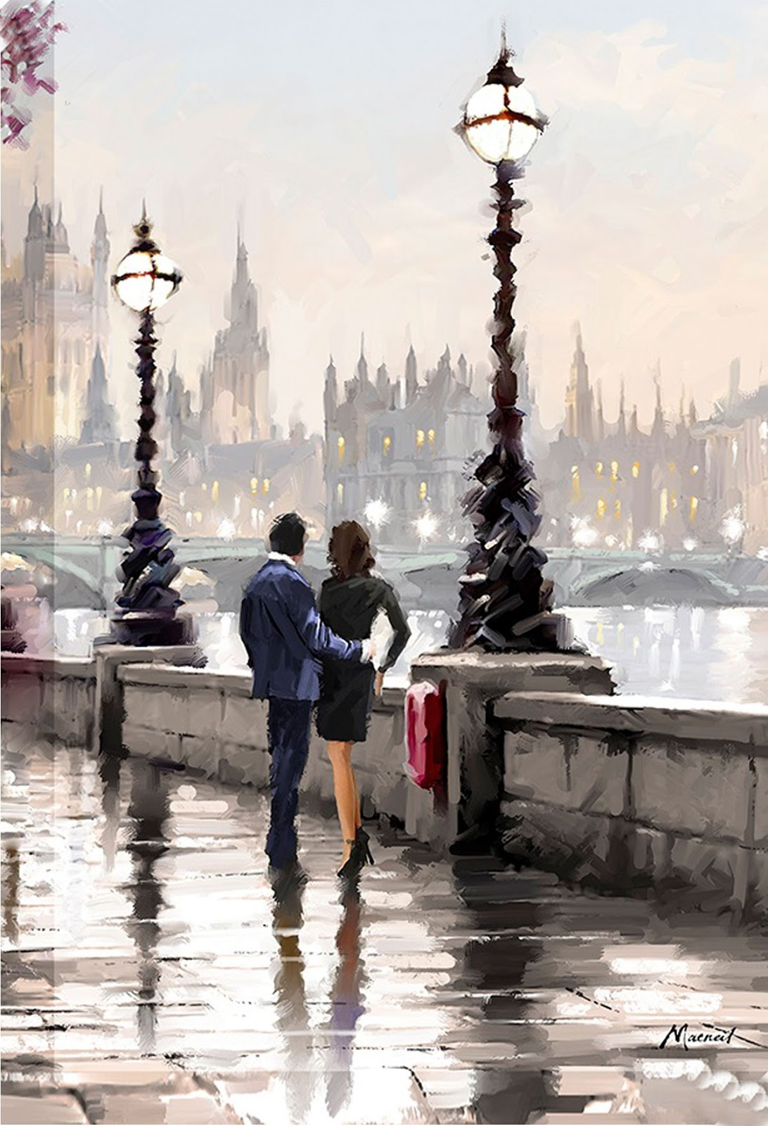 Richard Macneil View from the Embankment