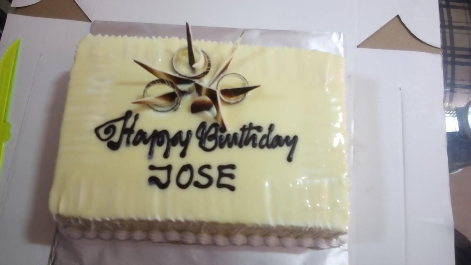Birthday Cake For Joseph ~ Foo cakes