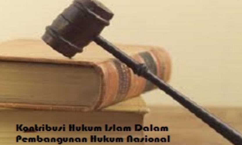 Kontribusi Hukum Islam