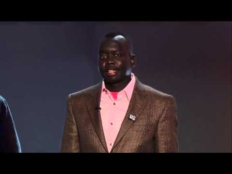 2013 Humanitarian Award Winner Manyang Reath at the Africa Diaspora Awards