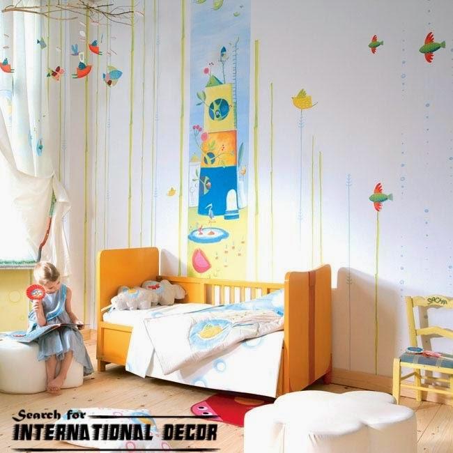 Modern Nursery Wallpaper: Latest Trends Of Childrens Wallpaper For Nursery