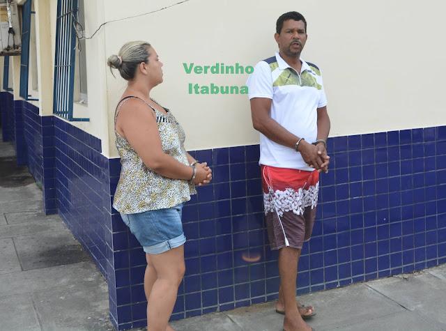Eliana (Lanaa) e  José Silva (Sid)