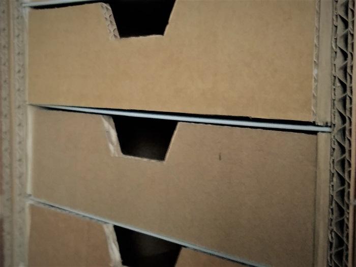 tiroirs avant kraft
