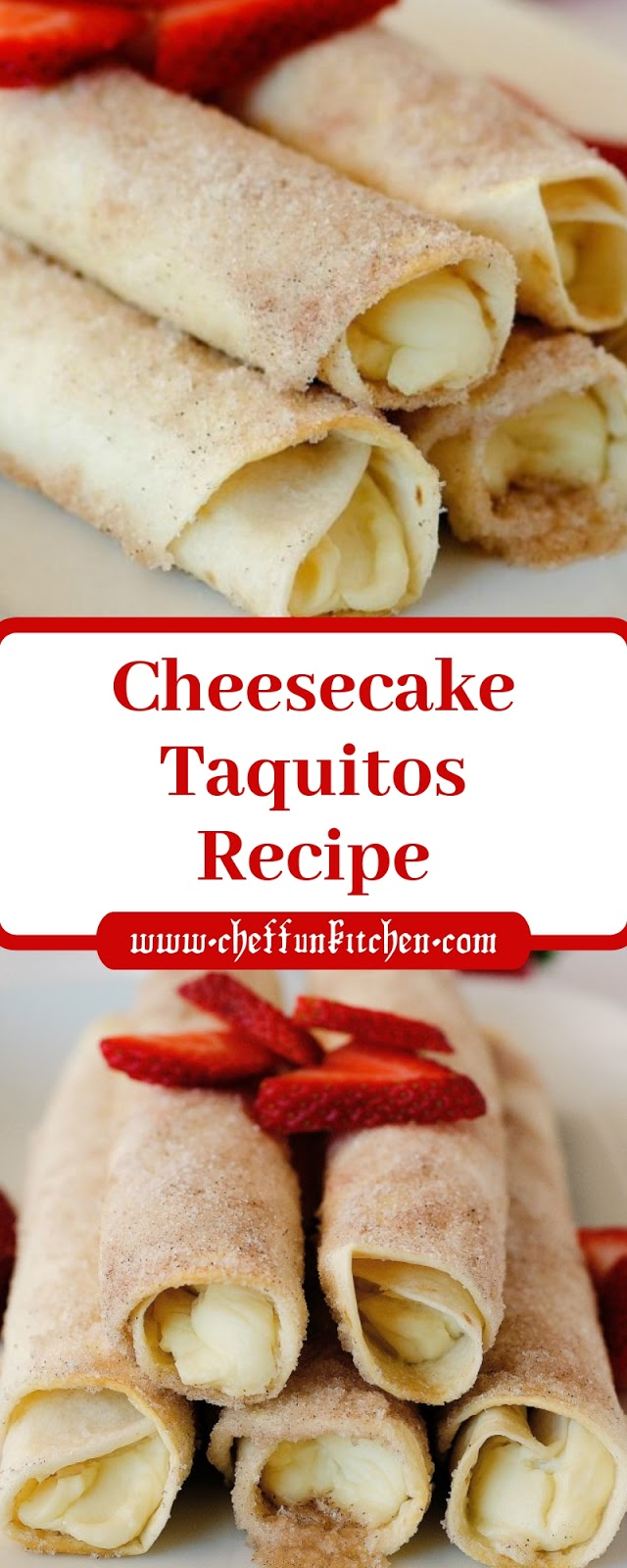 Cheesecake Taquitos Recipe