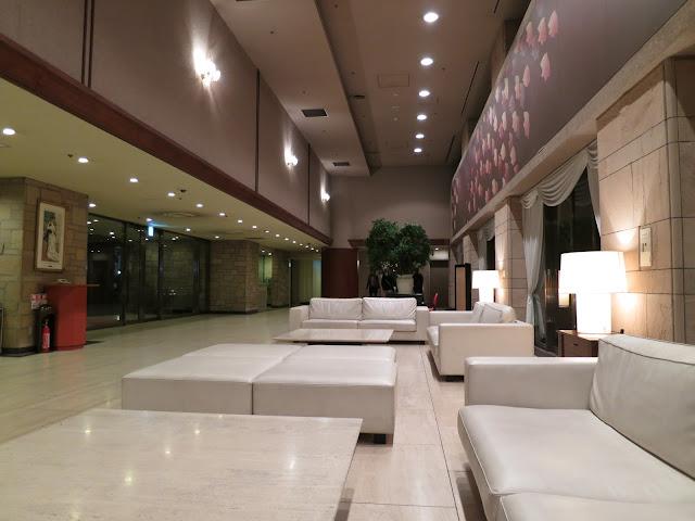 Princess Garden Hotel lobby. Tokyo Consult. TokyoConsult.