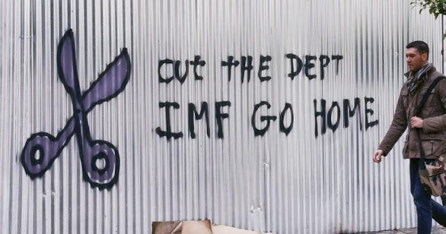 Στον σκληρό πυρήνα, αλλά ως αποικία χρέους