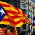 Concentración en la Plaza Sant Jaume de Barcelona en protesta por las detenciones de los Jordis