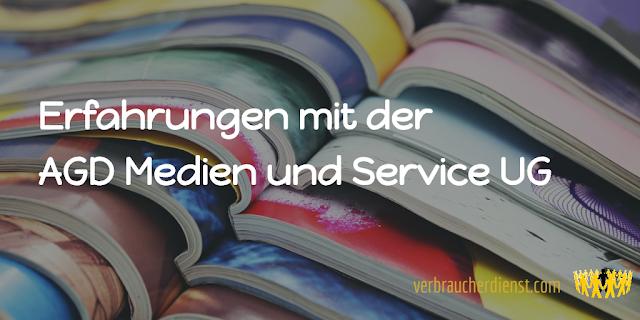 Titel: Erfahrungen mit der AGD Medien und Service UG