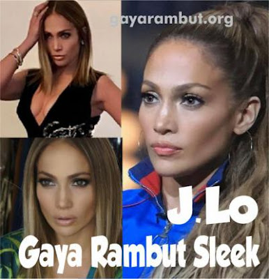 potongan rambut terbaru Jennifer Lopez