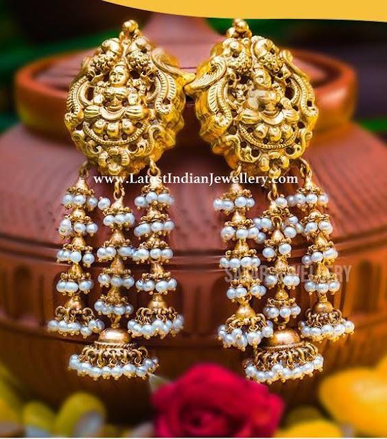 Unique Lakshmi Earrings