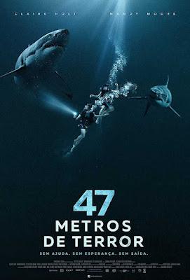 Poster 47 Metres Down 2017 Dual Audio HD 720p