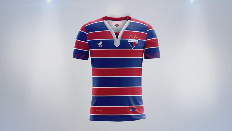 Mantos do Futebol  Camisas do Fortaleza EC 2018-2019 Leão1918 ... 7fa738da05727