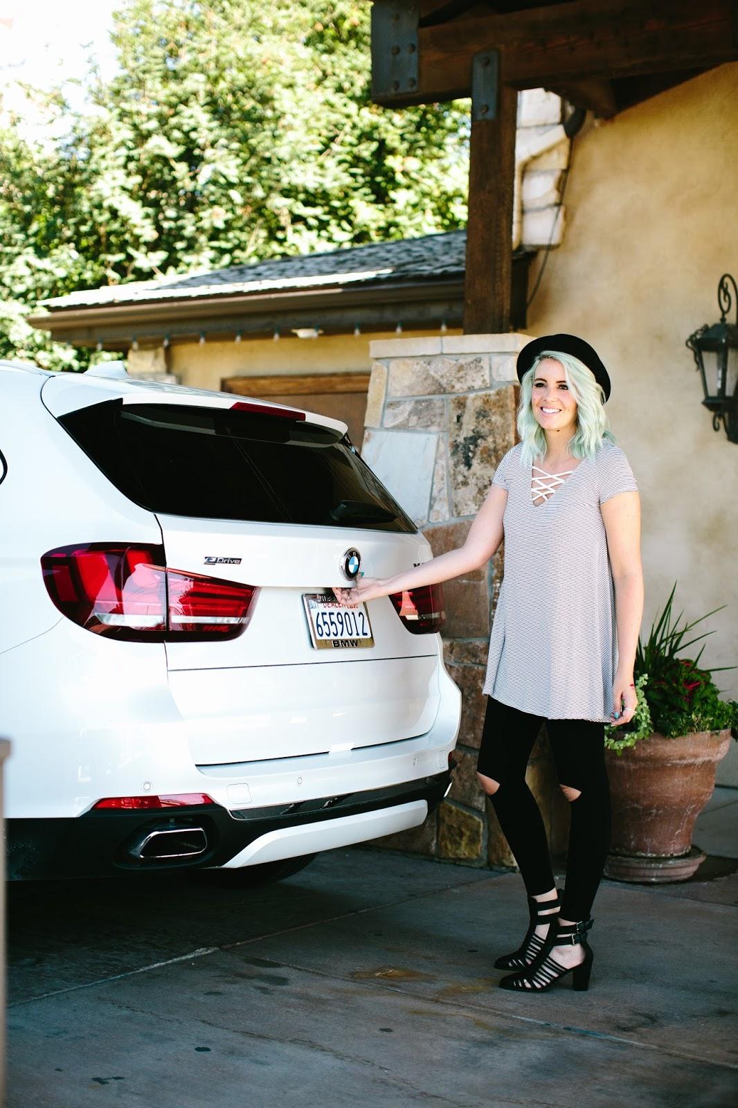 BMW Hybrid, BMW X5, White BMW