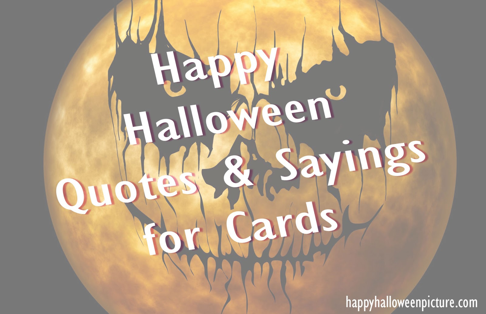 2016 famous halloween quotes - What To Say In A Halloween Card