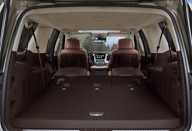 2015 Chevrolet Suburban cargo area