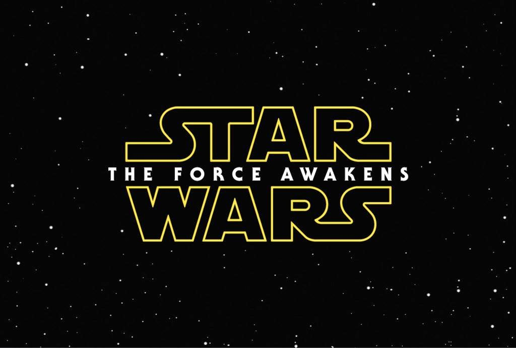 pics from Star Wars The Force Awakens font logo wallpaper