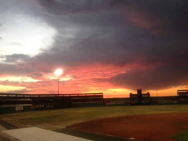 Softball Field At Sunset | www.imgkid.com - The Image Kid ...