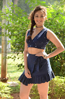 Seerat Kapoor Stunning Cute Beauty in Mini Skirt  Polka Dop Choli Top ~  Exclusive Galleries 015.jpg