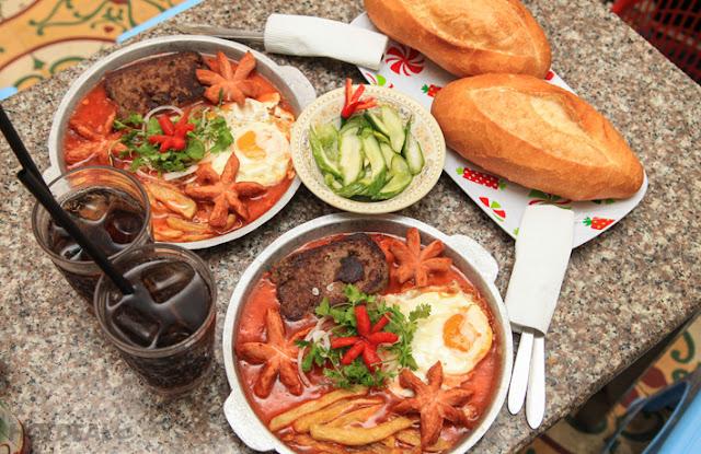 Các món ăn ngon bổ rẻ khi du lịch Đà Nẵng