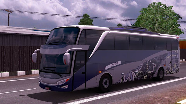 Download mod bus SHD ets2 v8 muhamad nasir