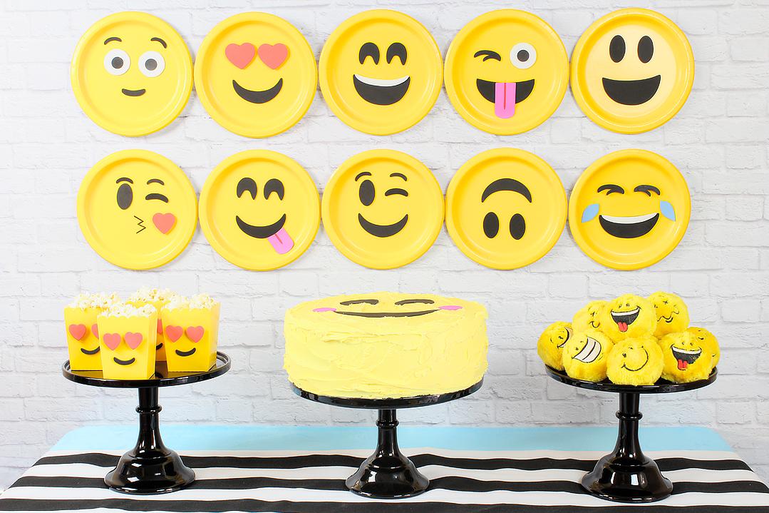 Tema da Festa Emoji Guia Tudo Festa Blog de Festas dicas e ideias! -> Decoração De Festa Tema Emoji