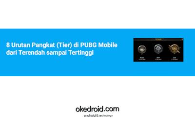 8 Urutan Jenis Level  Sistem Pangkat Rank di PUBG Mobile dari Terendah sampai Tertinggi