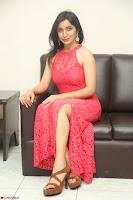Sakshi Kakkar in Red Legsplit Sleeveless Gown at Dare movie Press meet ~  Exclusive 033.JPG