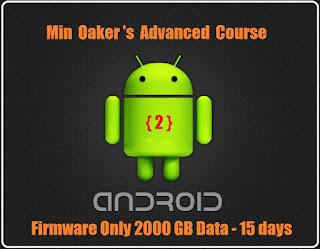Android Software အတန္းကို Advanced only ပဲ တက္ခ်င္တဲ့သူေတြအတြက္ လာလို႕ ရပါပီ..