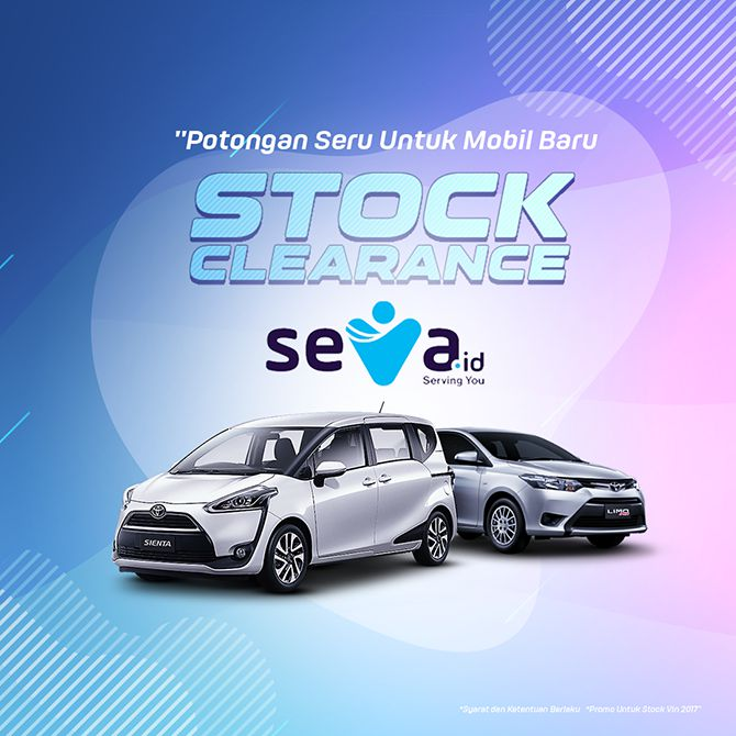 Stock Clearance yang ada di website seva.id