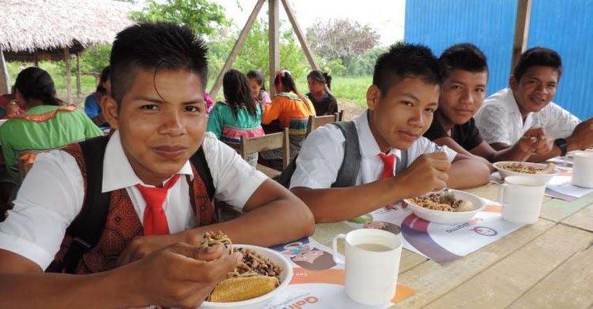 QALI WARMA: Programa social incorpora harina de maíz con maní y tapioca en almuerzos escolares de la Amazonía - www.qaliwarma.gob.pe