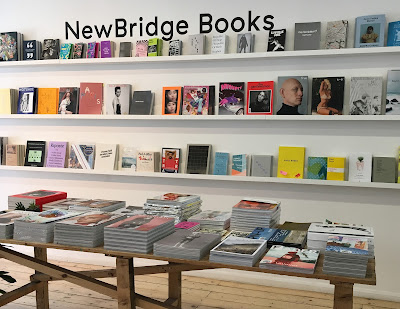 Delighted to see my publication in NewBridge Books' new location at BALTIC 39