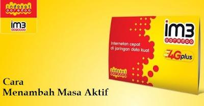 Cara Menambah Masa Aktif IM3 Mentari Indosat