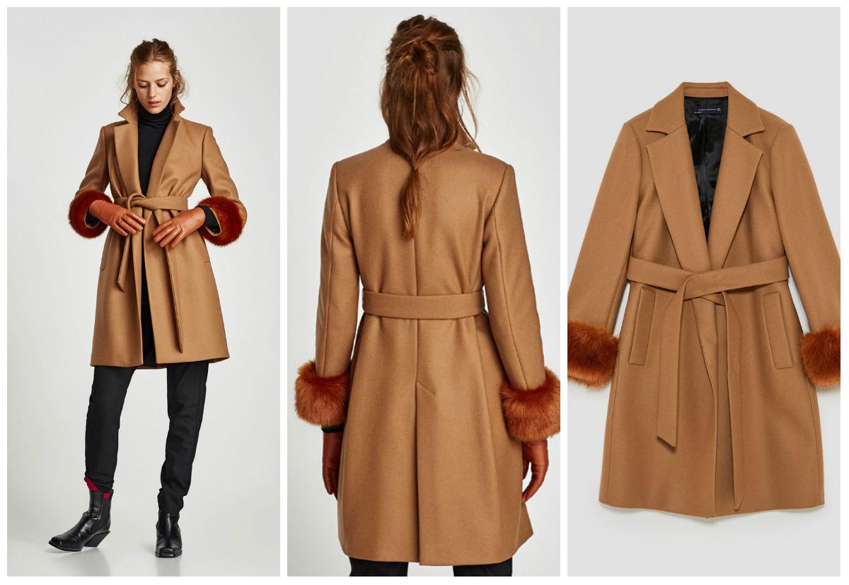 09dd5a61ae19 Παλτό oversized καρό. Γιακάς με πέτο και μακρύ μανίκι. Μπροστινές τσέπες με  καπάκι. Κουμπιά μπροστά.