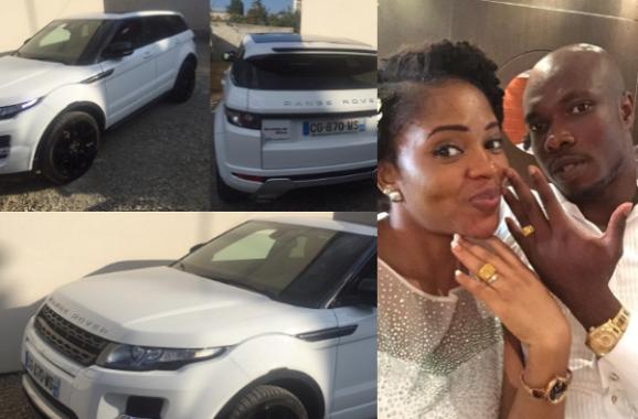 Footballer Dickson Nwakaeme buys Range Rover for his pregnant wife