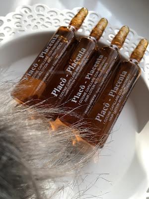 Plancenta Placo - ampułki na porost włosów