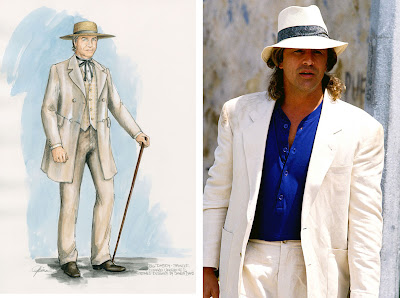 Don Johnson Miami Vice Django outfit