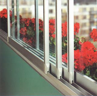 Zasklení balkonu GLASA zevnitř