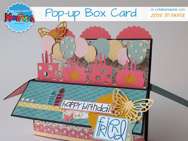 Pop-up Box Card di Love To Paper