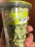 Guisantes de wasabi